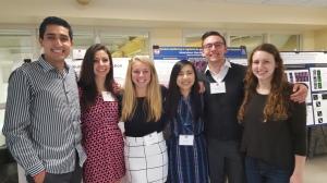 (left to right): JP, Sacha, Jenna, Tiffany, Alyssa.